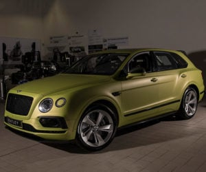 Bentley Bentayga to Blitz Pikes Peak Hill Climb