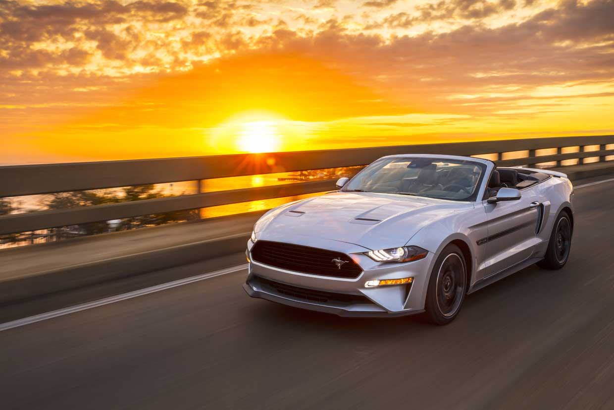 Ford Mustang California Special Returns for 2019 - 95 Octane