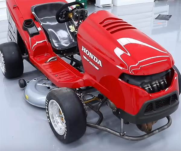 Honda Mean Mower Packs 189hp: Do You Want to Mow Man?