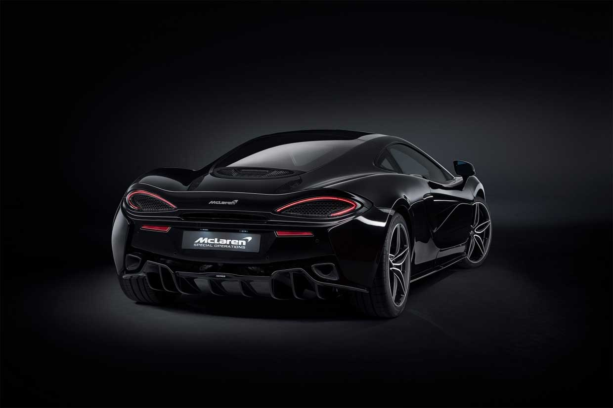 McLaren 570GT MSO Black: Any Color You Want, as Long as It's Black