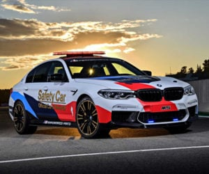 BMW M5 MotoGP Safety Car Looks Awesome