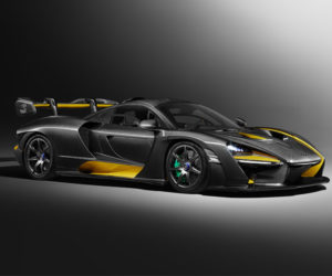 "McLaren Senna ""Carbon Theme"" Special is a Black and Yellow Beauty"