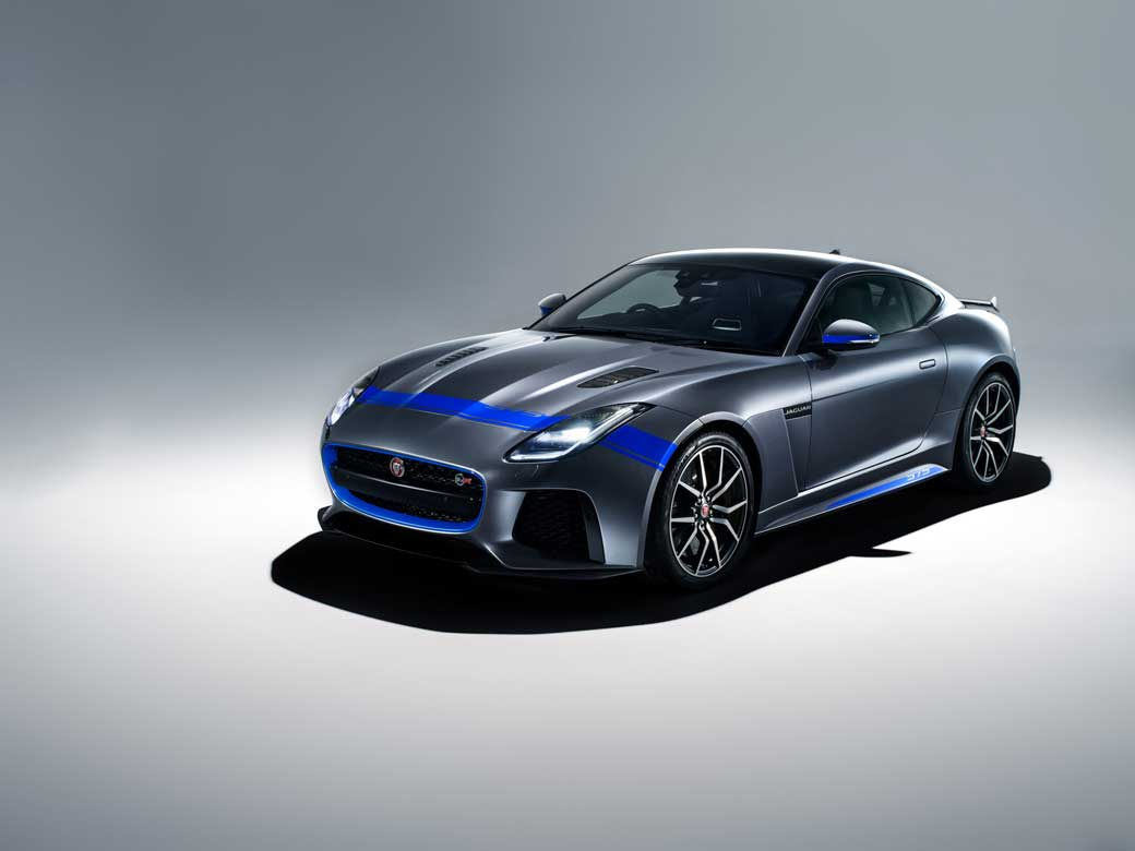 Jaguar F-Type SVR Gets Sporty Graphics Pack