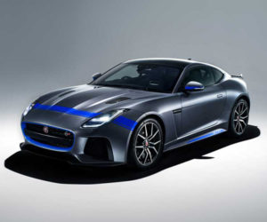 Jaguar F-Type SVR Gets Sporty Graphics Pack
