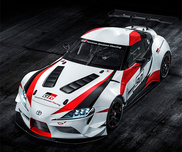 Toyota GR Supra Racing Concept Previews New Supra