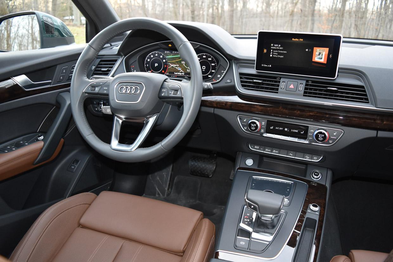 2018 Audi Q5 Review: Crossoverhaul