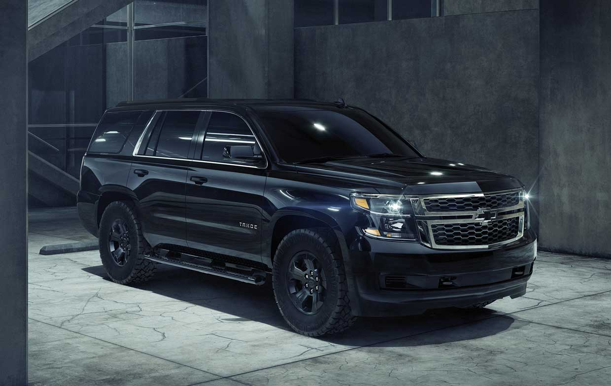 2017 Silverado Accessories >> 2018 Chevrolet Tahoe Custom Midnight is Back in Black - 95 Octane