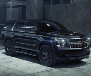2018 Chevrolet Tahoe Custom Midnight is Back in Black