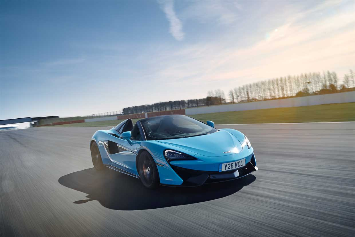 McLaren 570S Spider Track Pack Now Available