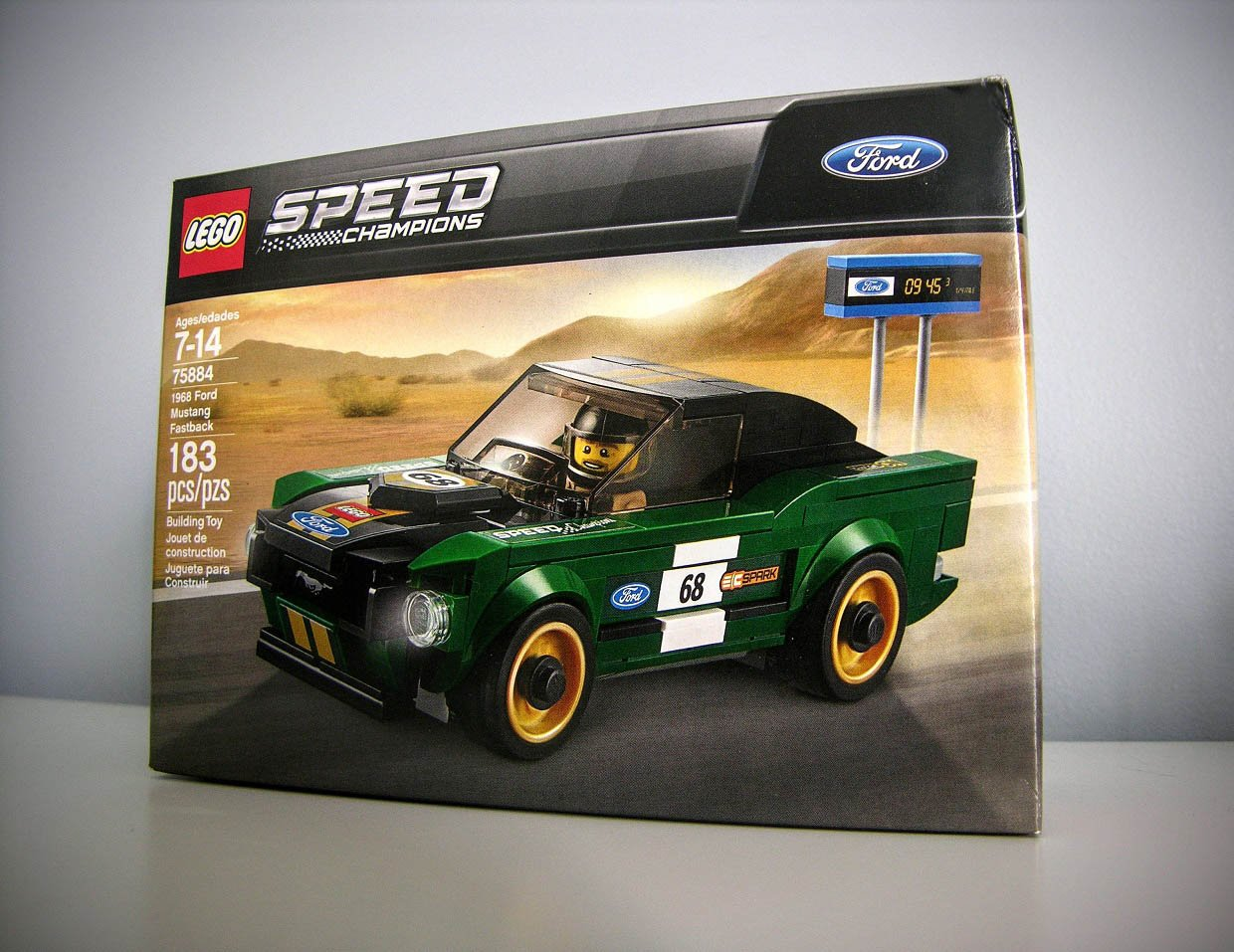 1968 Ford Mustang Fastback LEGO Kit Review: Retro Righteousness
