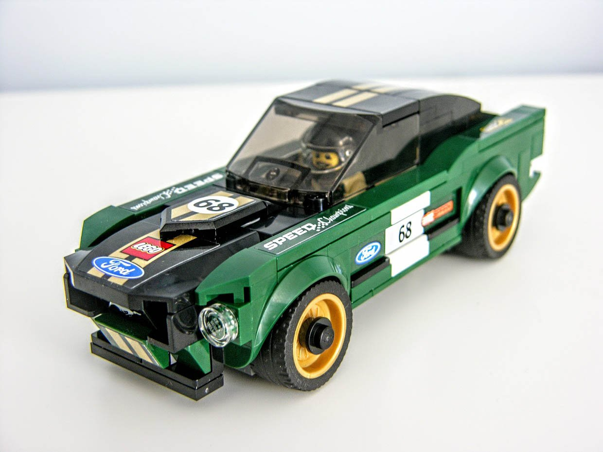 1968 ford mustang fastback lego kit review retro righteousness. Black Bedroom Furniture Sets. Home Design Ideas