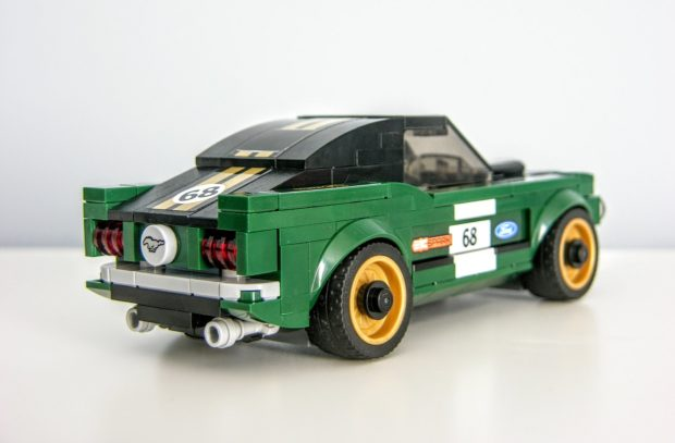 1968 ford mustang fastback lego kit review retro righteousness 95 octane. Black Bedroom Furniture Sets. Home Design Ideas