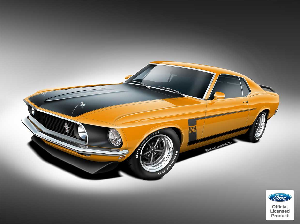 Continuation Boss 429, Boss 302, and Mach 1 Mustangs Announced