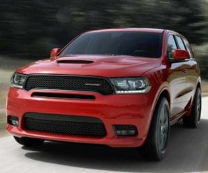 2018 Dodge Durango Rallye Ditches the V8, Not the Style