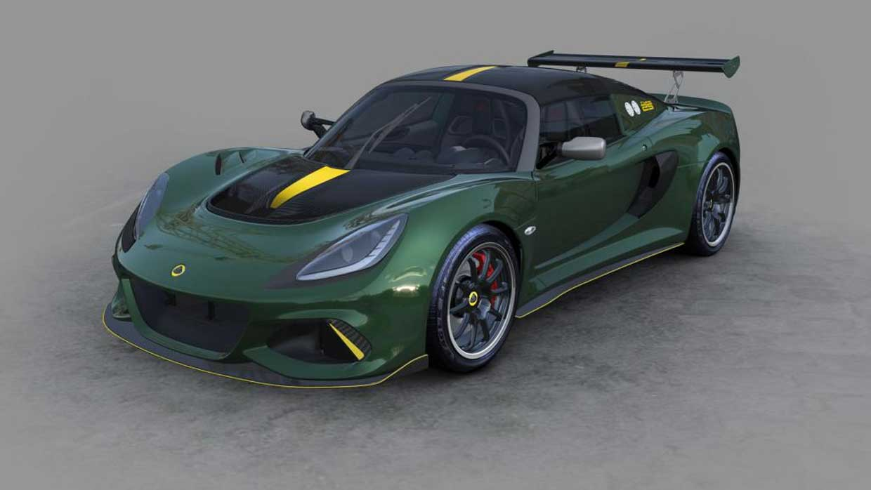 Lotus Exige Cup 430 Type 25 Celebrates 1963 Race Season