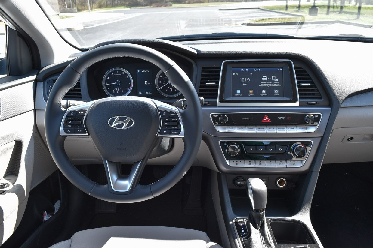 2018 hyundai sonata sel review master of the mid size. Black Bedroom Furniture Sets. Home Design Ideas