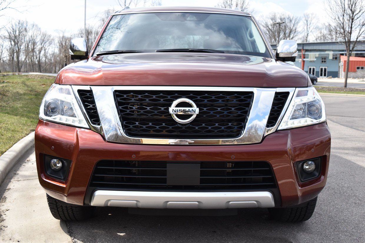 Nissan Luxury Brand >> 2018 Nissan Armada Review A Big Boy For The Boss