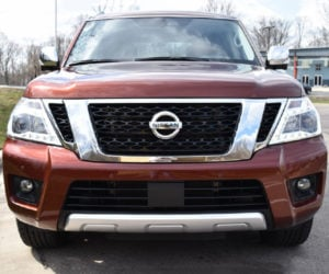 2018 Nissan Armada Review: A Big Boy for the Boss