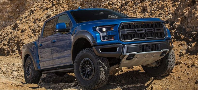 2019 Ford F-150 Raptor Gets New Shocks and Trail Control Tech