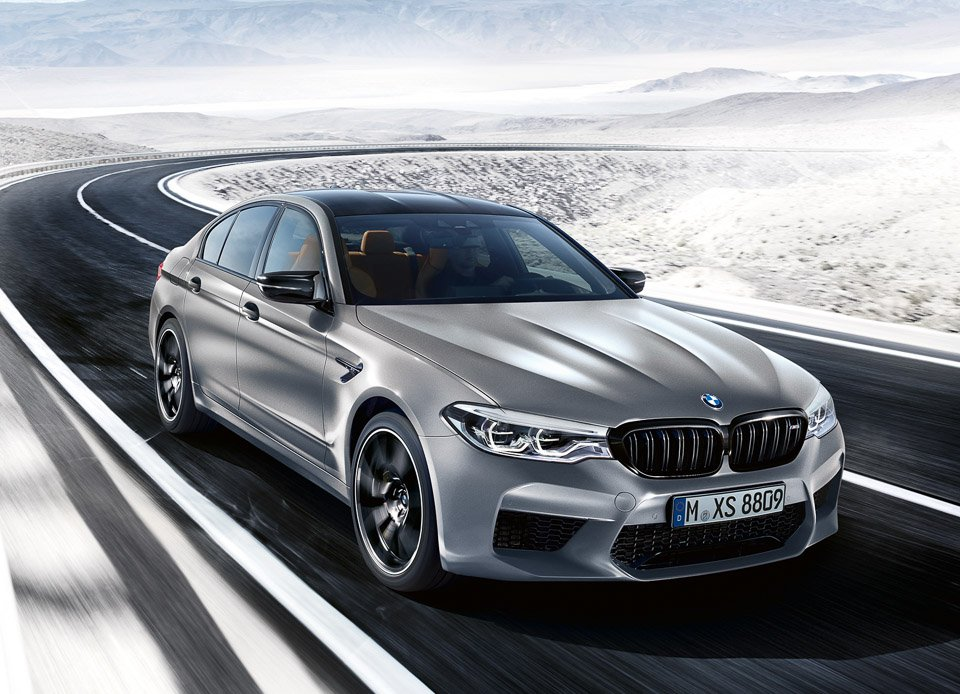 2019 BMW M5 Competition: Big, Beautiful, Brawny