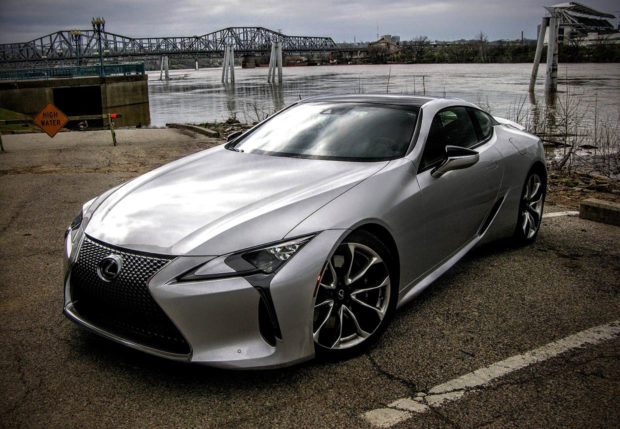 Lexus LC 500 Sports Car With Performance Package