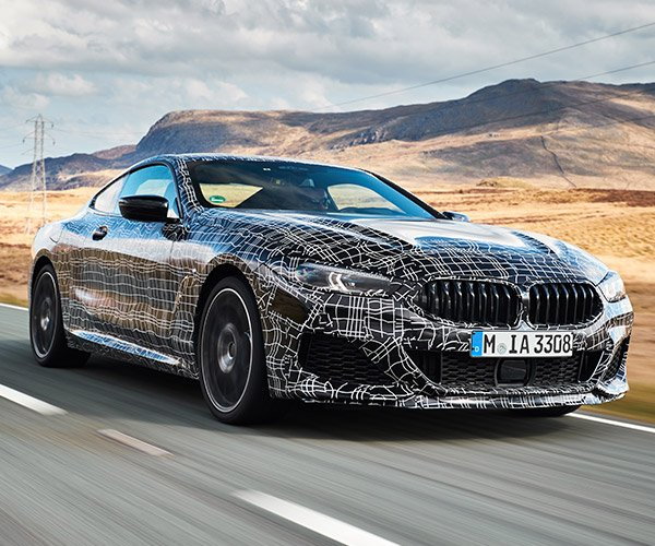 BMW 8 Series Coupe's V8 Sounds Off