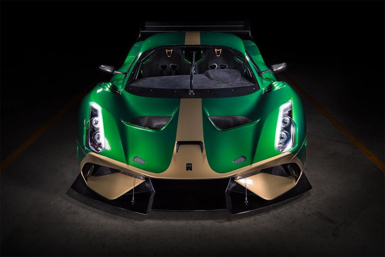 Brabham BT62 Jams 700hp into Package Lighter than a MX-5