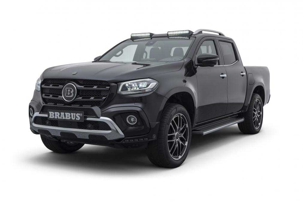 Brabus Mercedes X-Class Adds Style and a Few Ponies