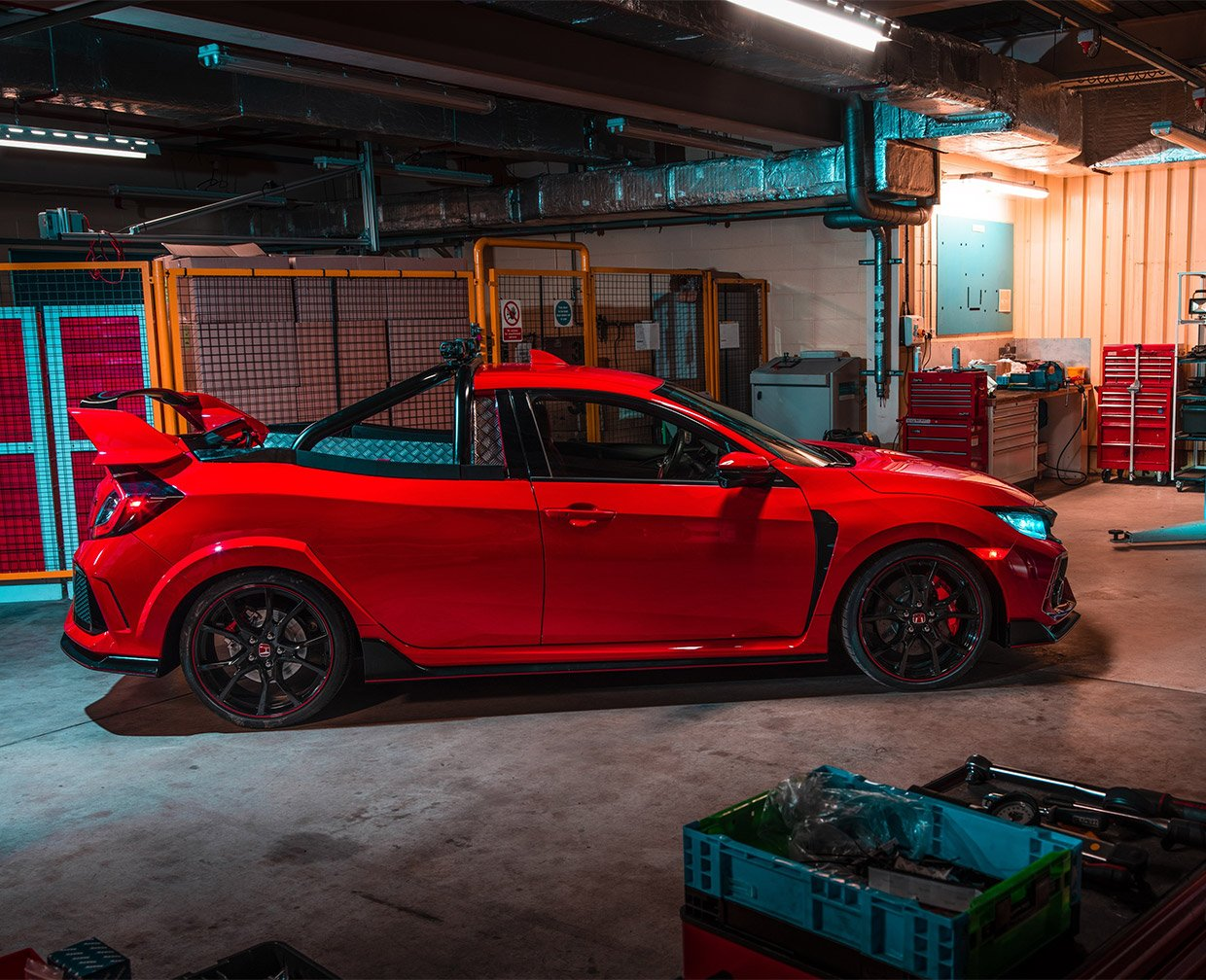 Honda Civic Type R Pickup Concept Hauls All The Nopes 95