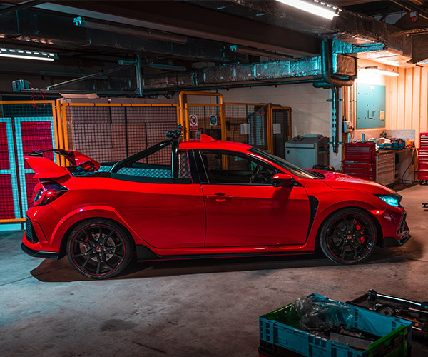 Honda Civic Type R Pickup Concept Hauls All the Nopes