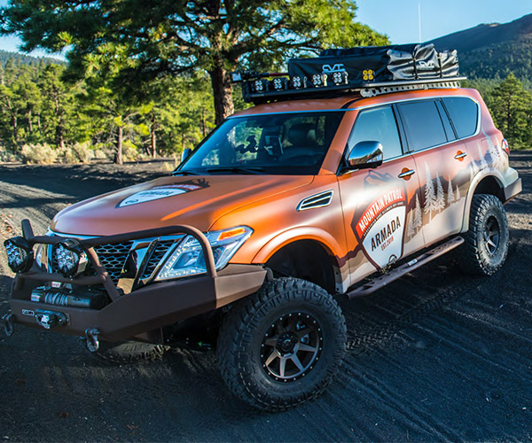 Nissan Armada Mountain Patrol Ready to Conquer Anything