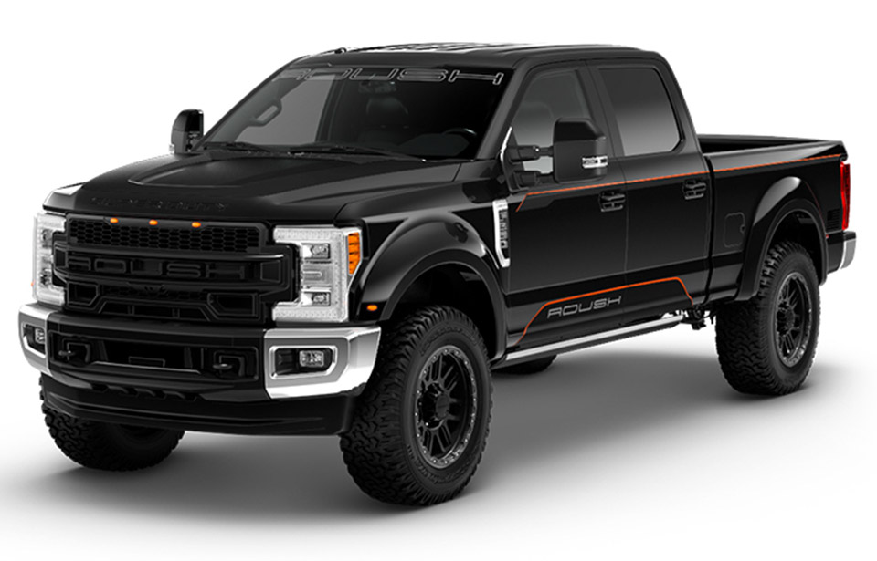 2018 Roush Super Duty F-250 Adds Height and Style