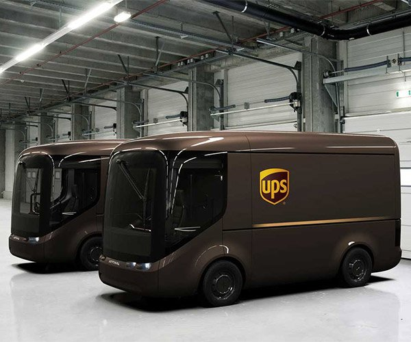 UPS to Test Adorable Electric Delivery Vehicles