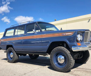 Icon 1965 Kaiser-Jeep Wagoneer is Wood-grained Perfection