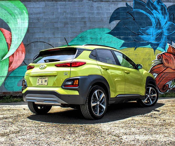 2019 Hyundai Kona Review A Lime Green Crossover With A