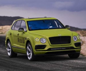 Bentley Bentayga Ready to Roll for Pikes Peak
