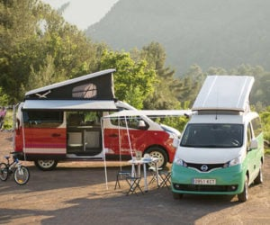 Nissan Camper Vans Channel Old-School VW Bus Magic