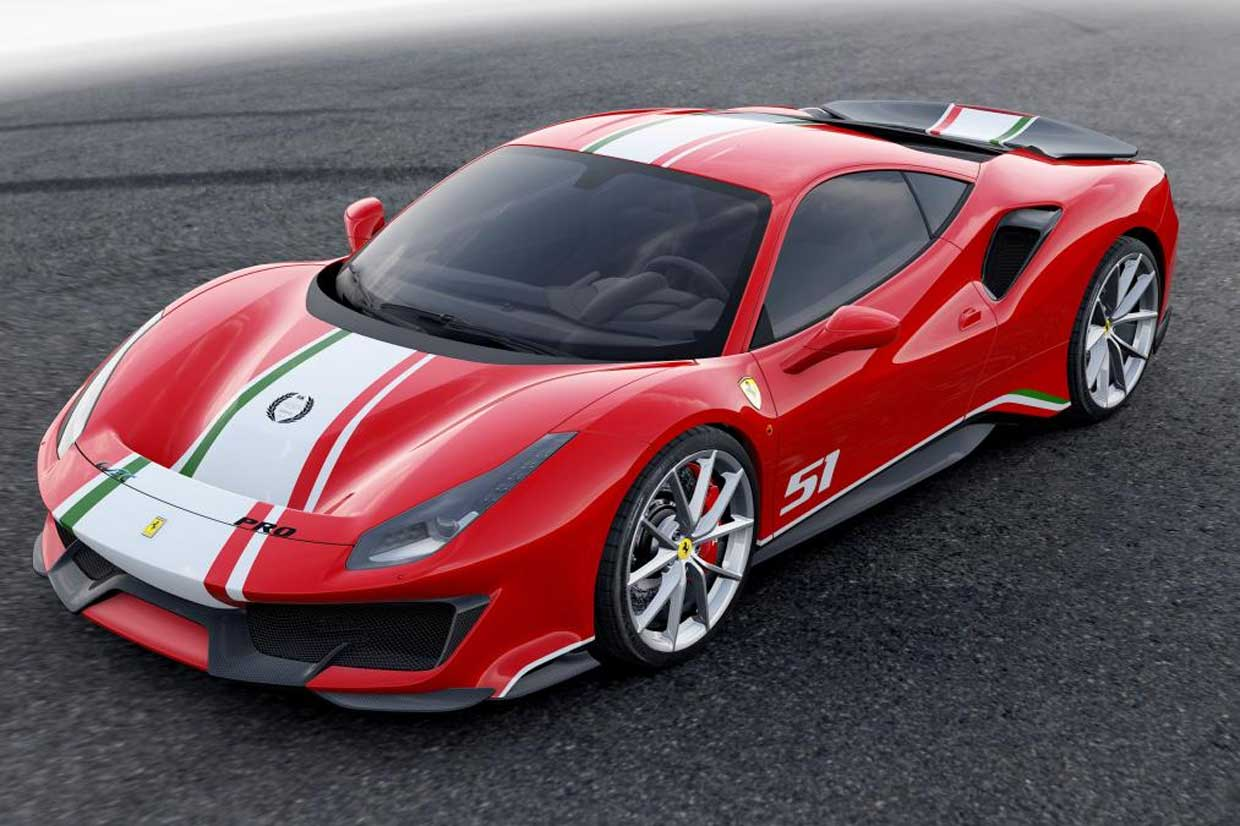 "Ferrari 488 Pista ""Piloti Ferrari"" is a Racers-only Special Edition"