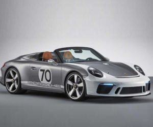 Porsche 911 Speedster Concept is a Throwback to the 356 No. 1