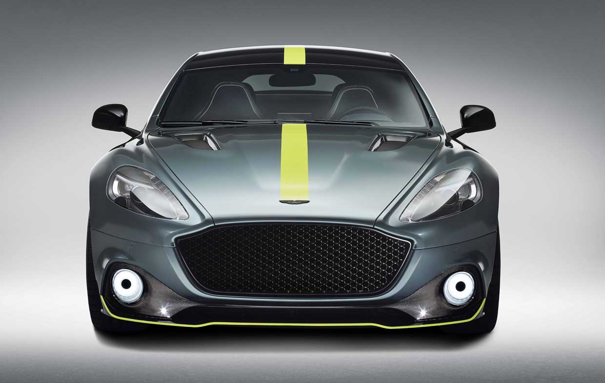 Aston Martin Rapide AMR is Four-Doors of V12 Zoom