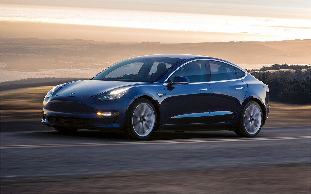 Tesla Model 3 Improves Brakes with Over-the-air Update
