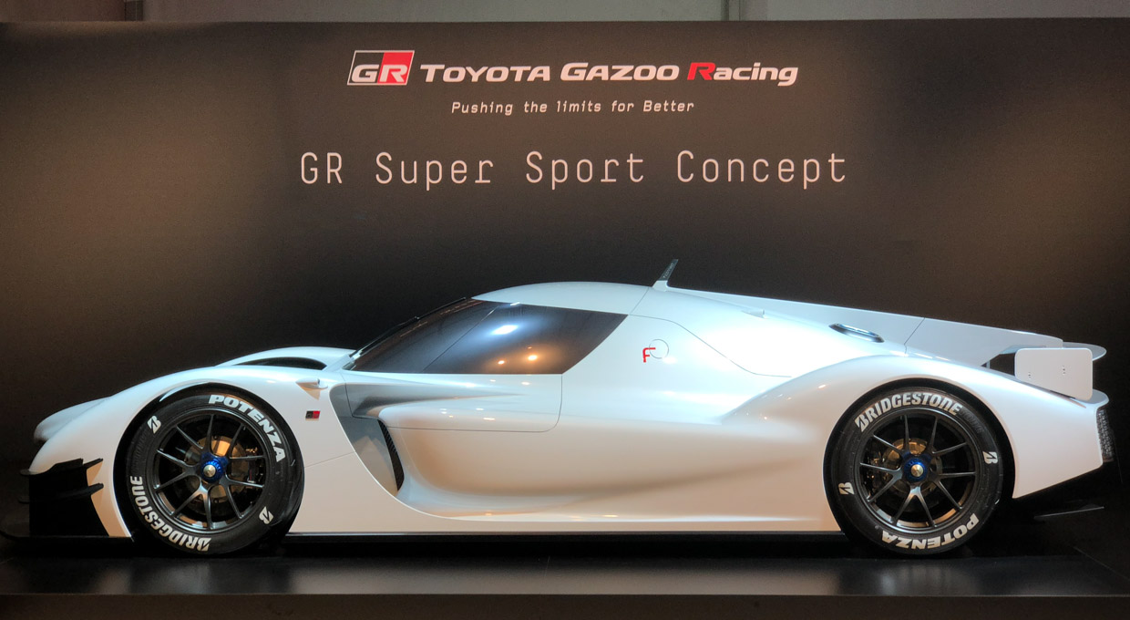 Toyota GR Super Sport Concept: LMP1 Tech for the Street