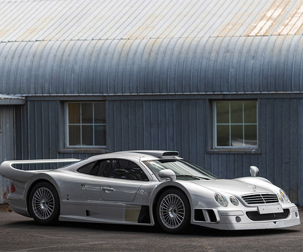Rare 1998 Mercedes-Benz AMG CLK GTR Heads to Auction