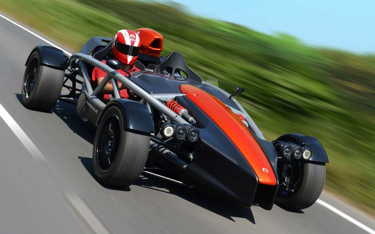 Ariel Atom 4 Gets a Honda R Turbocharged Heart