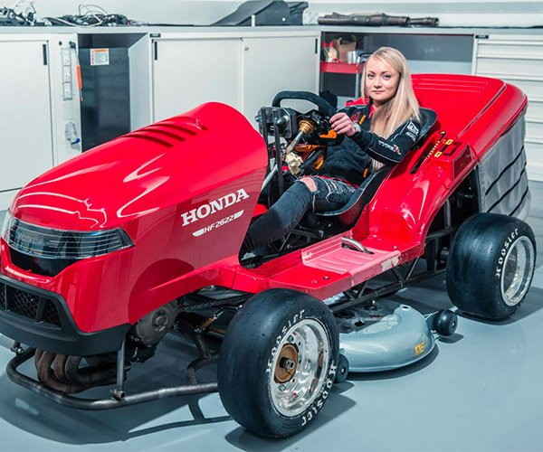 Honda Mean Mower Mk2 Top Speed Jumps to 150 mph