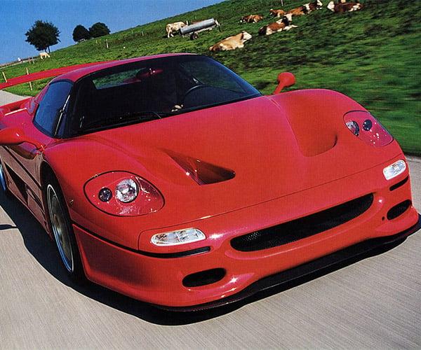 Turbo Ferrari F50 Goes WRAAAAA, WHOOSH, BRAAPPP