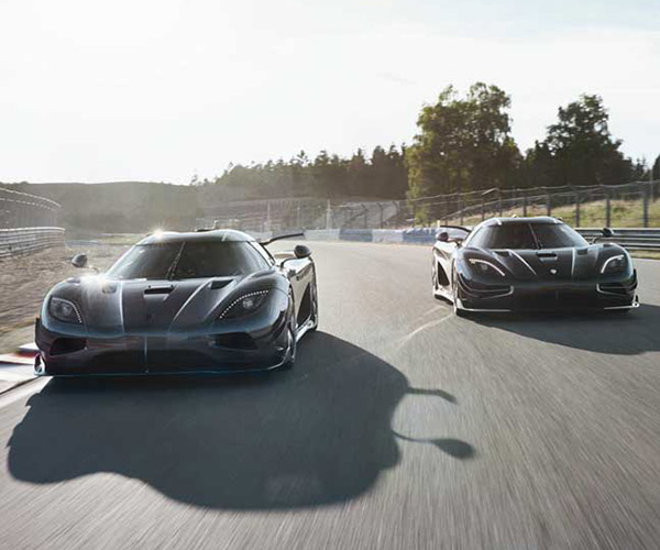 Meet Thor and Väder: The Final Edition Koenigsegg Agera RS