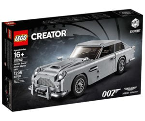 LEGO Aston Martin DB5 Revealed: Block, James Block