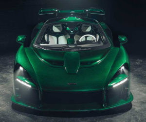 "Wicked McLaren Senna Heads to NYC Swathed in ""Fux Green"""
