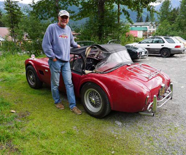 1965 Shelby Cobra Mauled by Asshole Bear